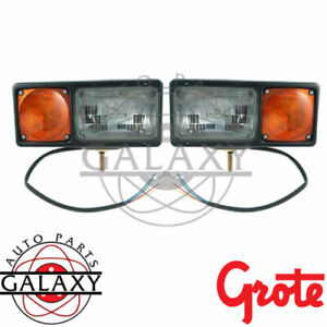 Grote Perlux Snow Plow Snowplow Light Lamp Kit 64261 4