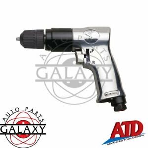Atd Tools Brand New 3 8 Reversable Air Drill W Reversable Chuck 2143