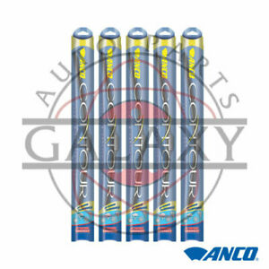Anco Contour C 22 oe 5 Pack 22 Replacement Wiper Blades