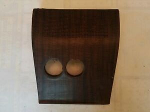 1968 Amc Amx Javelin Center Dash Pad Speaker Grille Overlay Woodgrain