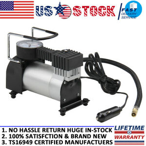 Tire Inflator 12v Auto Car Tire Electric Inflator Pump Air Compressor 150psi New