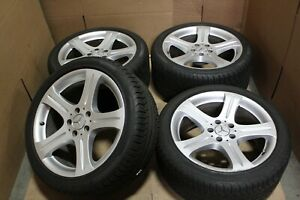 Used 2004 2019 18 Mercedes Cls Class Oem Wheels W tires 65371 65382