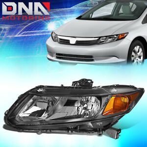 For 2012 2015 Honda Civic Factory Style Driving Headlight Lamp Assembly Left