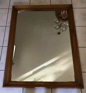 Genuine Cushman Colonial Creations Large Mirror Antique 1950 Circa