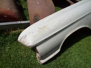 1961 Ford Fairlane Drivers Front Steel Fender Street L23 Jalopy Rat Rod Hot