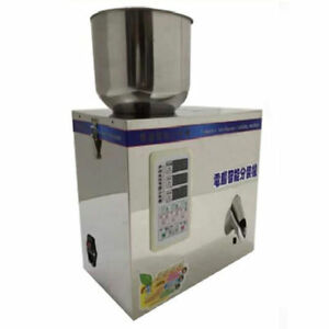 Automatic Particle Filling Machine For Tea Seed Grain Weigh Filler 1 500g