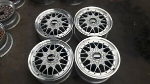 Jdm 17 Bbs Mesh Rs2 Rs Rsii Wheels Rims For Sxe10 Dc2 Z32 Z31 240sx 180sx S13
