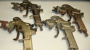 Vintage Snap on Bf501 And Bf500 Spray Guns 4 Total