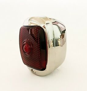 Hot Rod 1937 38 Chevy Tail Light R H Polished Stainless Steel