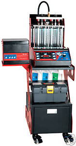 Gas Fuel Injector Testing Machine Injector Flow Bench 8 Cylinder