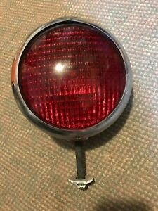 A44 Vintage Unity Model S6 Large Red Spotlight Truck Fire Ambulance Rat Rod