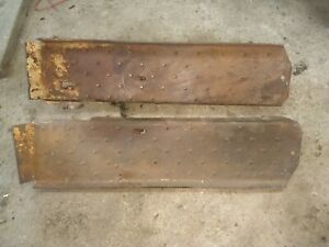 570 Cockshutt Tractor Left And Right Floorboards