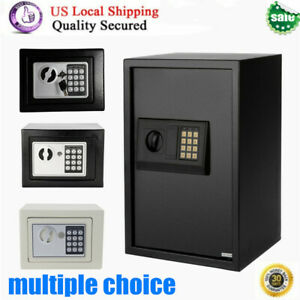 Electronic Safe Box Gun Money Security Wall Storage Cabinet Home Hotel Office