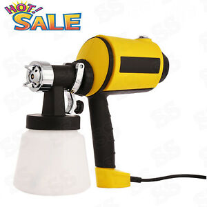 400w Electric Paint Spray Gun 800ml min Sprayer Painting House Wagner Airless Us