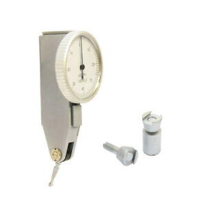 008 Dial Test Indicator Graduation 0001 Jewels White Face Precision Tool