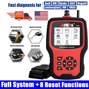 For Volkswagen Airbag Abs Dpf Epb Oil Reset Obd2 Scanner Diagnostic Tool