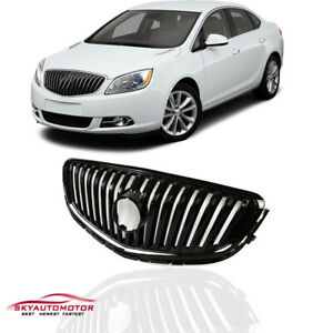 Fits For 2012 2016 Buick Verano Front Upper Bumper Grille Grill Gloss Black