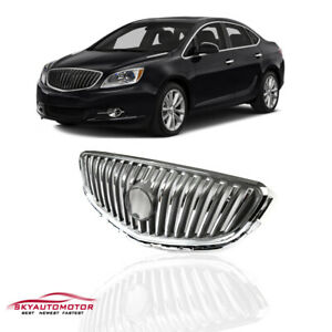 Fits 2012 2013 2014 2015 2016 Buick Verano Front Upper Hood Grille Chrome Grill