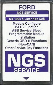 Ford Ngs Service 1994 Later Non Can purple Card
