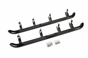 Gm Accessories 22805437 Crew Cab 4 inch Round Assist Steps In Black