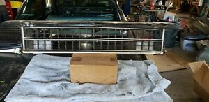 1973 1974 Road Runner Gtx Front Grill Grille Molding Oem Plymouth Satellite 73