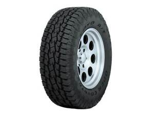 4 New Toyo Open Country A t Ii 109h 65k mile Tires 2556516 255 65 16 25565r16