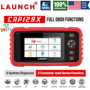 Launch Automotive Tool Obd2 Scanner Auto Diagnostic Service Abs Airbag Epb Tpms
