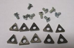New Positive Rake Carbide Inserts For Ammco Models 4000 4100 7000 Lathes