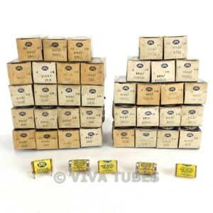 Nos Nib Lot Of 41 Irc Ww4j Precision Wire Wound Resistors 5 Ohm 100 Ohm 350 Ohm