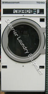 Wascomat Td50 Tumble Dryer 50lb 220v 3ph Steam Reconditioned