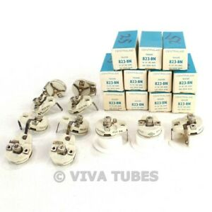 Nos Nib Lot Of 11 Centralab B23 bn n650 Trimmer Potentiometers 10 100 Uf 600 Vdc