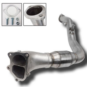 Rev9 For 05 09 Subaru Legacy Gt 3 Divided Turbo Downpipe High Flow Cat Mt Only Fits Subaru