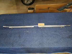 68 1968 Dodge Coronet Trunk Lid Molding 440 Boot Deck Mopar Rear Trim Strip Nice