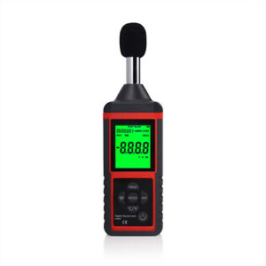 Lcd Digital Sound Level Meter Noise Tester Level Data Decibel Logging Handy Kit