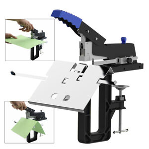 Manual Dual Flat Nail Saddle Stitch Stapler Binding Machine Binder 3 Box Staples