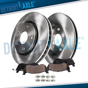 Front Brakes Rotors Brake Pads Dodge Ram 1500 4wd Rotor Ceramic Pad Kit