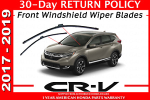 Genuine Oem Honda Cr v Front Windshield Wiper Blades 2017 2019 Crv