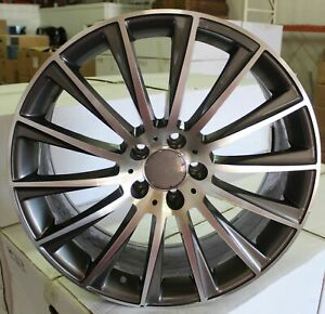 New 18 Inch X 8 5 9 5 S Turbine Style Staggered Wheels Rims 5 Lug