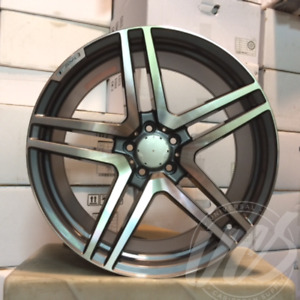 New 18 Inch X 8 5 9 5 S65 Staggered Wheels Rims 5 Lug 5x114 3 Set 4