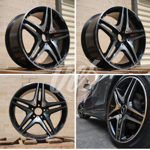 New 18 X 8 5 Staggered Wheels Rims 5 Lug Fits Mercedes Benz Cl Class Set Of 4