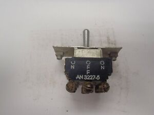 Ch A h An3227 5 Toggle Switch 4pdt On off on Momentary In One Position L5