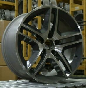 18 Ford Mustang Gt500 2010 Factory Oem Rim Wheel 3811 Charcoal Blemish