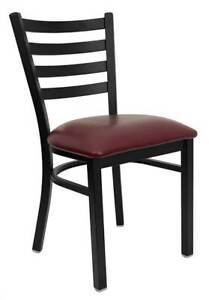 Hercules Restaurant Chair W Upholstered Seat Set Of 2 id 3064807