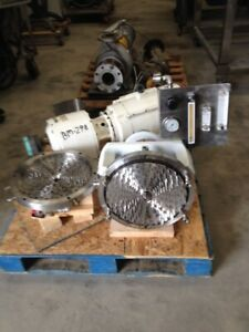 Oakes Model 14 Continuous Inline Mixer Has High Shear Rotor stator Mixing Head