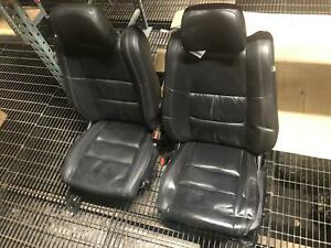 Jeep Grand Cherokee Complete Set Front And Rear Leather Seats 14 15 16 17