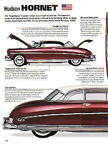1952 Hudson Hornet Twin H Article 4 Pages Long Must See