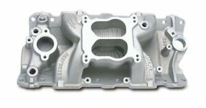 Edelbrock 2601 1955 86 Sb Chevy Performer Air Gap Intake Manifold Idle 5500 Rpm