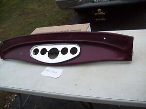 1932 Ford 5 W Coupe Sedan Fiberglass Dash Board Gauge Panel A Jalopy Rat Rod Hot