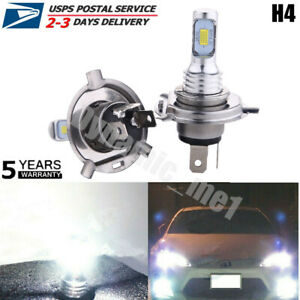 9003 Hb2 H4 Led Hi Low Beam Csp Fog Lights Headlight Bulbs Kit 35w 6000k White