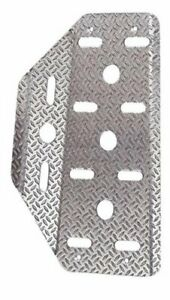Sparco 03780an Tapered Dead Embossed Pedal Silver